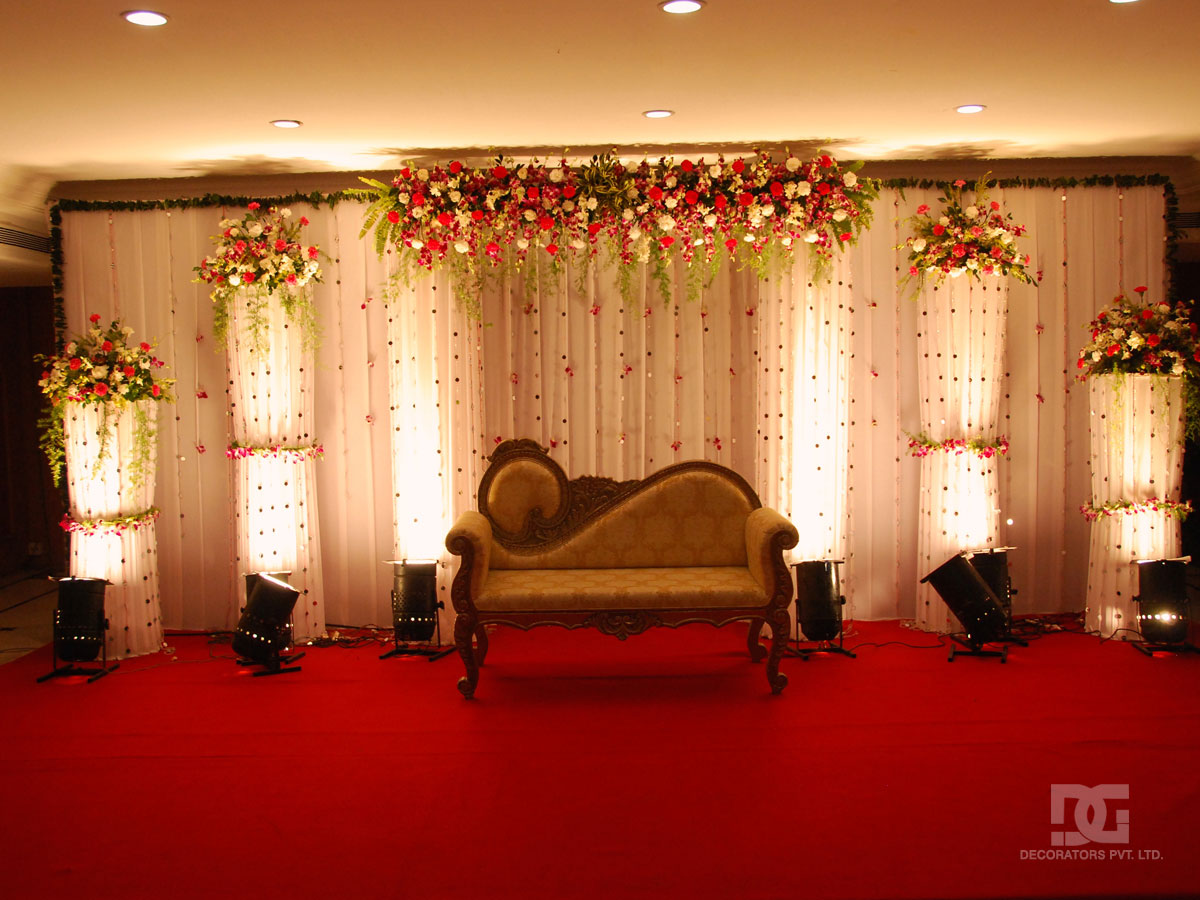 Wedding decoration indoor stage backdrop for Background stage decoration