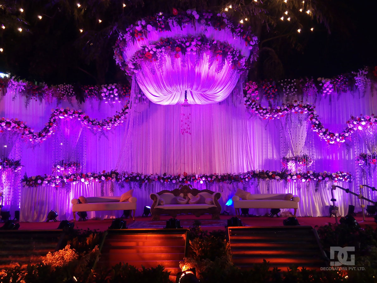 New wedding stage decoration photos stunning wedding stage new wedding stage decoration photos wedding decoration outdoor stage backdrop junglespirit Gallery